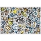 Doodle Cartoon Set of Space Themed Objects - GraphicRiver Item for Sale