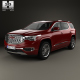GMC Acadia Denali 2017 - 3DOcean Item for Sale