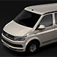 VW California T6 2018 - 3DOcean Item for Sale