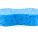 Blue sponge on white - PhotoDune Item for Sale
