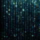 Rain of Falling Bright Particles - VideoHive Item for Sale