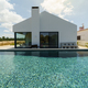 Modern house with garden swimming pool and wooden deck - PhotoDune Item for Sale