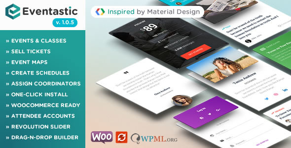 Image of Eventastic - Multipurpose Theme for Events & Classes