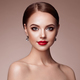 Beautiful woman face with perfect makeup - PhotoDune Item for Sale