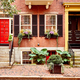 Street at Beacon Hill neighborhood, Boston - PhotoDune Item for Sale