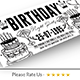Birthday Party Facebook Timeline Cover - GraphicRiver Item for Sale