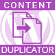 Wordpress page duplicator - Duplicate contents through find and replace - CodeCanyon Item for Sale