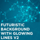 Futuristic Background with Glowing Lines V2 - VideoHive Item for Sale