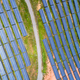 aerial view of photovoltaic panels on hillside - PhotoDune Item for Sale