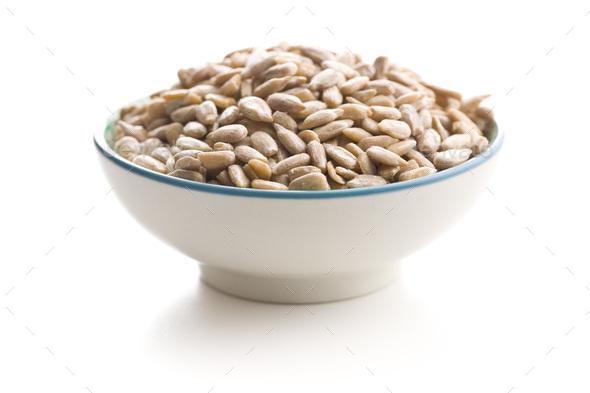 Peeled sunflower seeds. - Stock Photo - Images