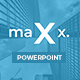 Maxx - Business Powerpoint Template - GraphicRiver Item for Sale