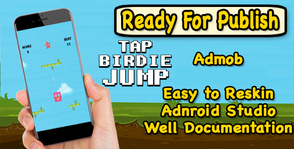 Tap Birdie Jump - CodeCanyon Item for Sale