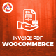Invoice Pdf Woocommerce - CodeCanyon Item for Sale