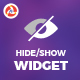 Hide/Show Widget - CodeCanyon Item for Sale