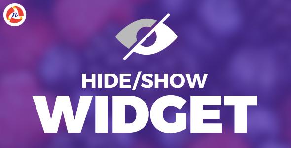 Hide/Show Widget - CodeCanyon Item for Sale