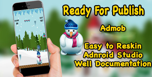 Snowman Winter Rescue - Game For Kids - Ready For Publish - Android Studio - CodeCanyon Item for Sale