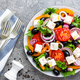 Greek salad. Fresh vegetable salad - PhotoDune Item for Sale