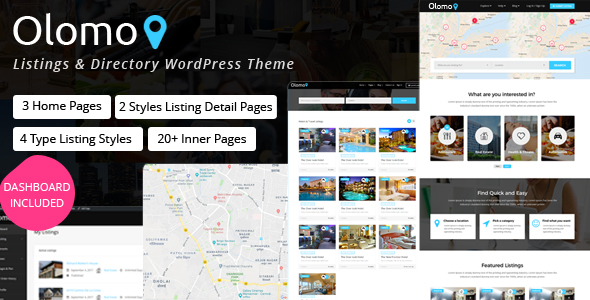 Image of Olomo – Listings & Directory WordPress Theme
