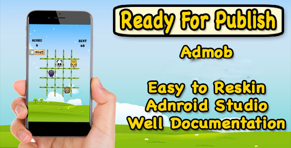 Rescue Little Panda - Android Studio Project - Ready To Publish - CodeCanyon Item for Sale