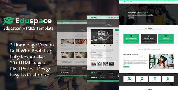 Eduspace - Education and Courses HTML5 Template