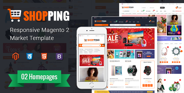 Shopping - Multipurporse eCommerce Magento 2 Theme - Shopping Magento