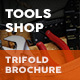 Tools Shop Trifold Brochure - GraphicRiver Item for Sale