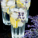 Lavender lemonade with lemon and ice - PhotoDune Item for Sale