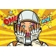 OMG Wow Pop Art Woman Astronaut - GraphicRiver Item for Sale