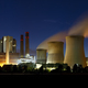 Brown Coal Power Station At Night Panorama - PhotoDune Item for Sale