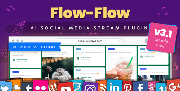 Flow-Flow — WordPress Social Stream Plugin by looks_awesome | CodeCanyon
