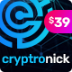 Cryptronick | WordPress Theme for ICO & Cryptocurrency Business - ThemeForest Item for Sale