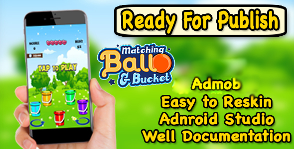 Matching Ball & Bucket - New Concept Of Matching Game - Ready For Publish - CodeCanyon Item for Sale