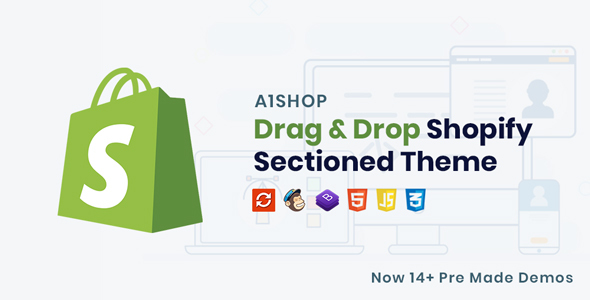 Image of A1Shop - Responsive & Multipurpose Sectioned Drag & Drop Shopify Theme