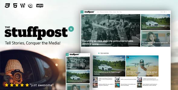 Image of StuffPost - Professional News & Magazine WordPress Theme