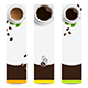 Banners with Coffee - GraphicRiver Item for Sale
