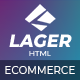 Lager - eCommerce HTML Template - ThemeForest Item for Sale