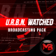 URBN Watched - Broadcasting Package - VideoHive Item for Sale