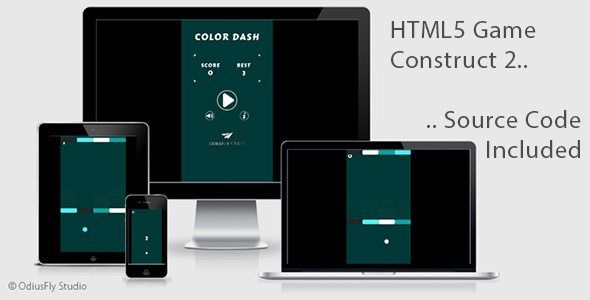 Color Dash - HTML5 Game (Construct 2)            Nulled