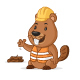 Beaver Contractor - GraphicRiver Item for Sale