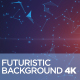 Futuristic Background 4K - VideoHive Item for Sale