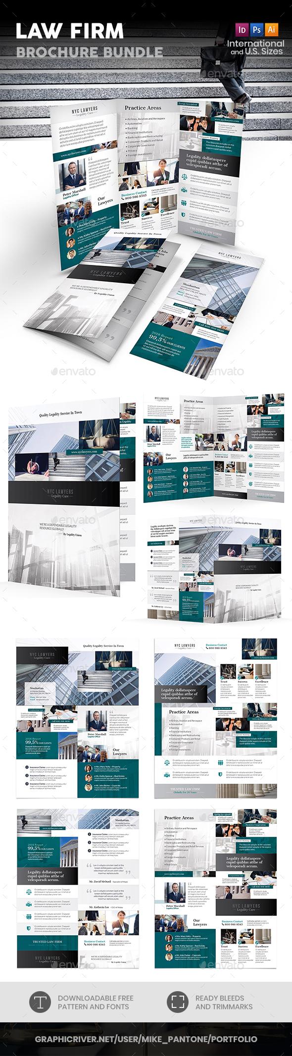 Law Firm Print Bundle 4 - Informational Brochures