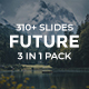 3 in 1 Future Pack Powerpoint Bundle Template