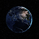 Realistic Earth Rotating in Space - VideoHive Item for Sale