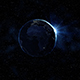 Sunrise Realistic Earth Rotating in Space - VideoHive Item for Sale