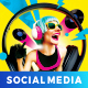 DJ Lemon Social Media - GraphicRiver Item for Sale