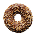 Chocolate and crushed nuts donut - PhotoDune Item for Sale