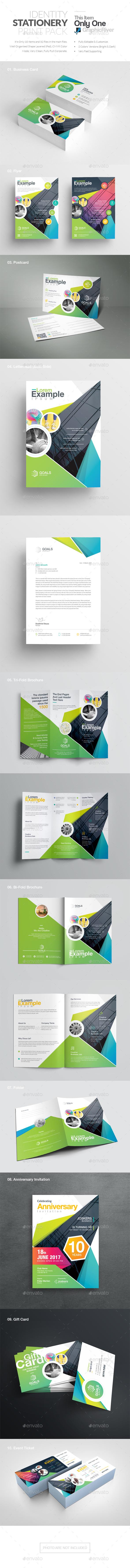 Identity Stationery Print Pack - Stationery Print Templates