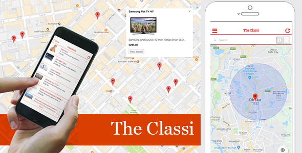The Classi | Classified App - CodeCanyon Item for Sale
