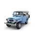 Land Cruiser FJ 40 Soft Top with interior - 3DOcean Item for Sale