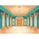 Ballroom or Royal Palace Hall Vector Illustration - GraphicRiver Item for Sale